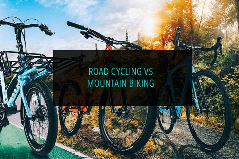 Road Cycling vs Mountain Biking