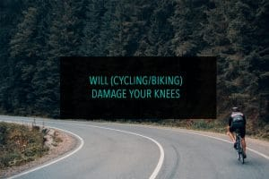 Will cycling biking damage your knees