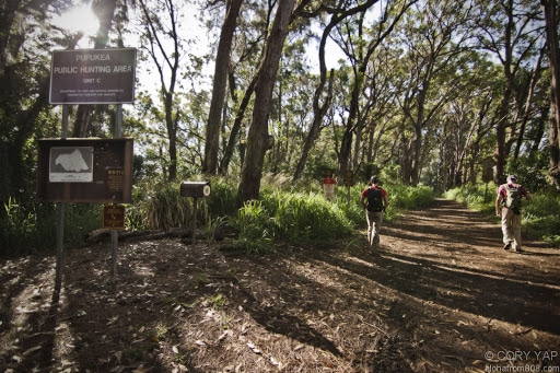 Pupukea Mountain Biking Trail
