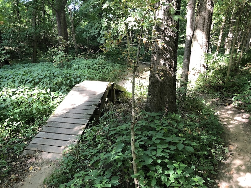 Town Run Trail Park in Indiana