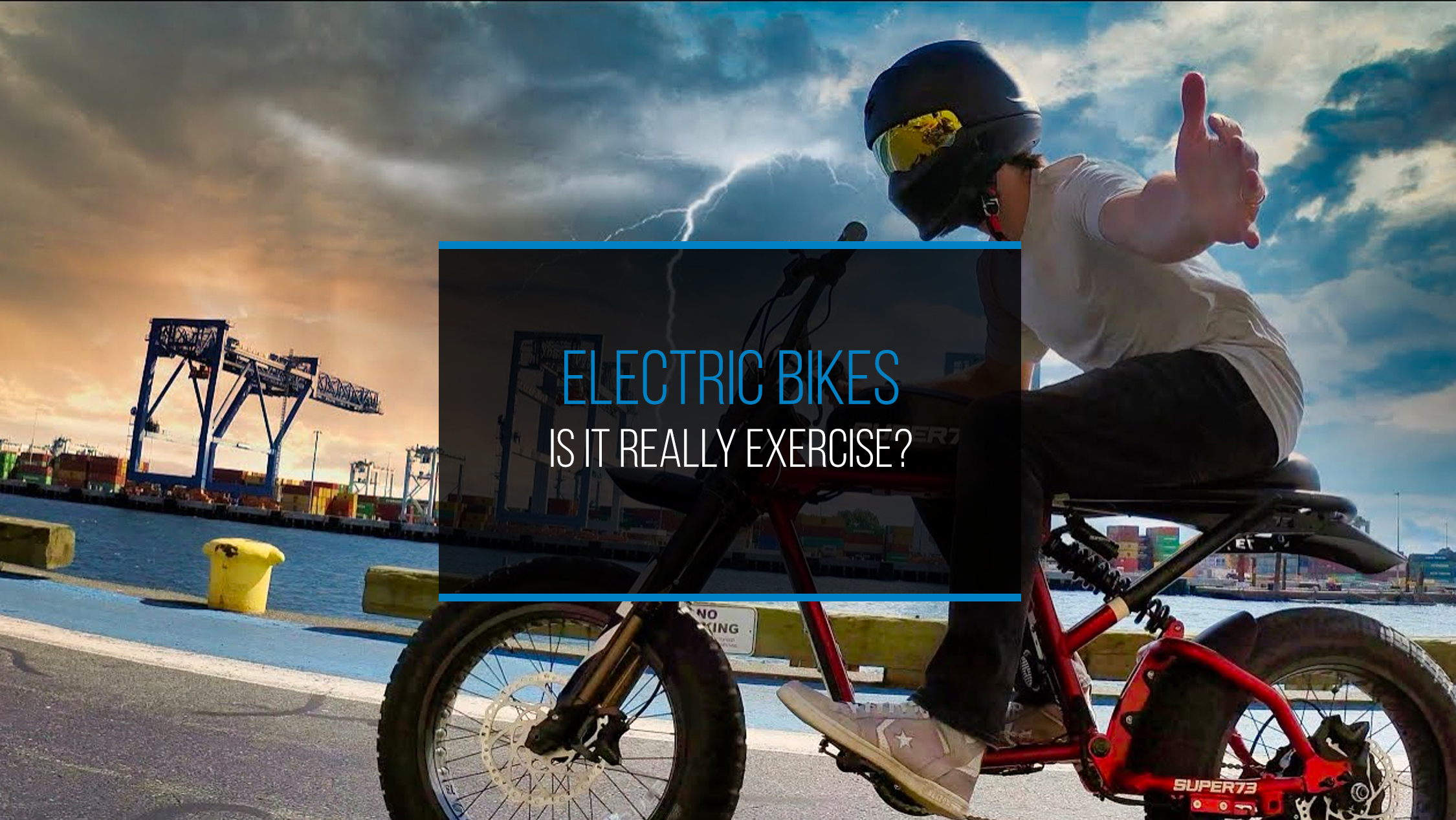 Electric Bicycles- Is It Really Exercise - WP