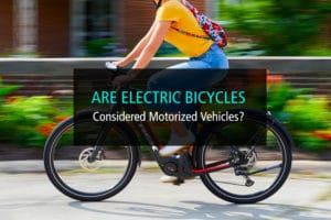 Are Electric Bicycles Considered Motorized Vehicles - WP