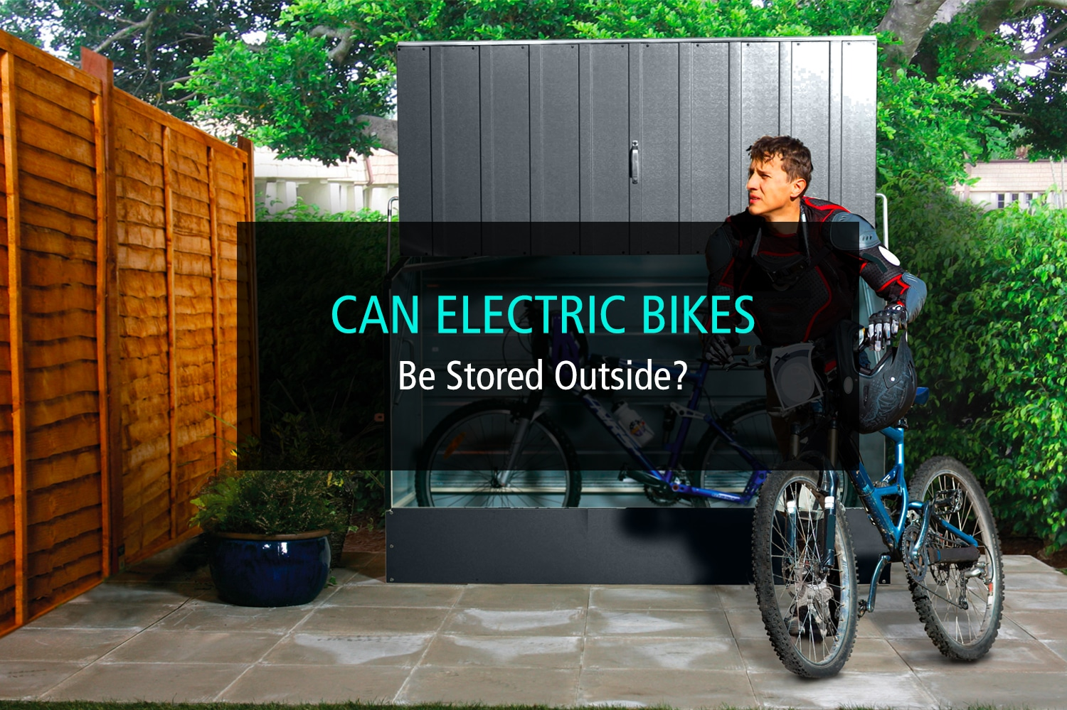 Can Electric Bicycles Be Stored Outside - WP