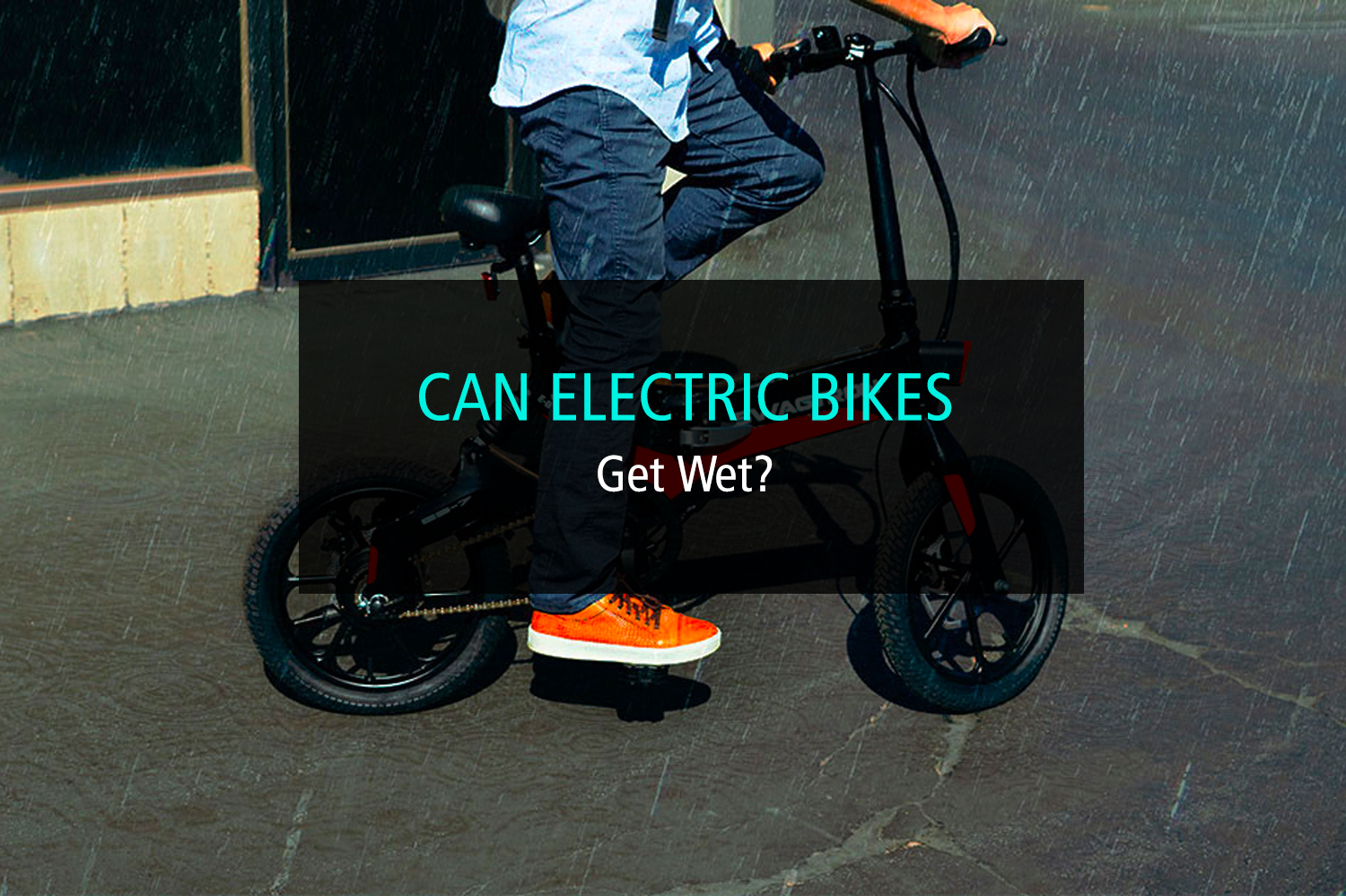 Can Electric Bikes Get Wet_ - WP