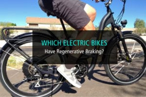 Which Electric Bikes Have Regenerative Braking - WP